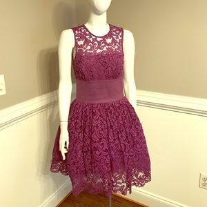 ASOS Purple Lace Dress- NWT